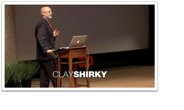 Clay Shirky takes on an insightful journey on media technology....well worth listening to.