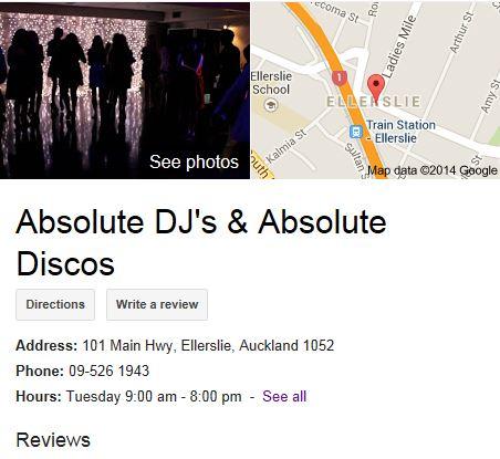 Auckland DJ hire Absolute Discos Absolute DJs Auckland